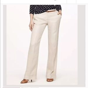 J.Crew 100% Linen Cuffed Pants